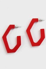SYLCA Geometric Resin Hoop