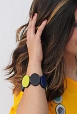 SYLCA Helena Lime & Navy Bracelet