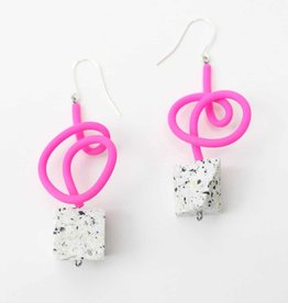SYLCA Pink Paige Earrings