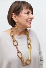 SYLCA Mustard Melissa Necklace