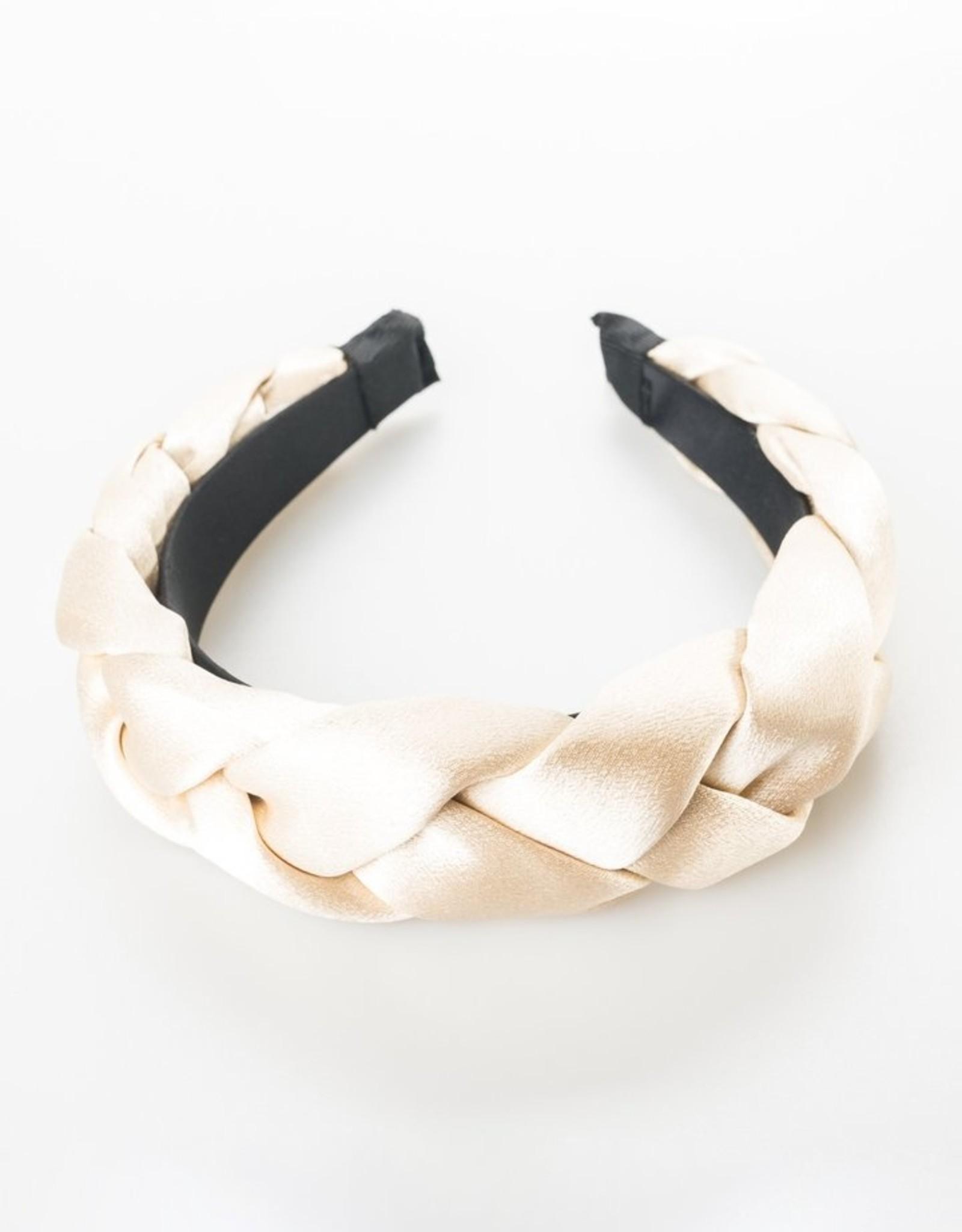 Savannah Solid Braid Headband