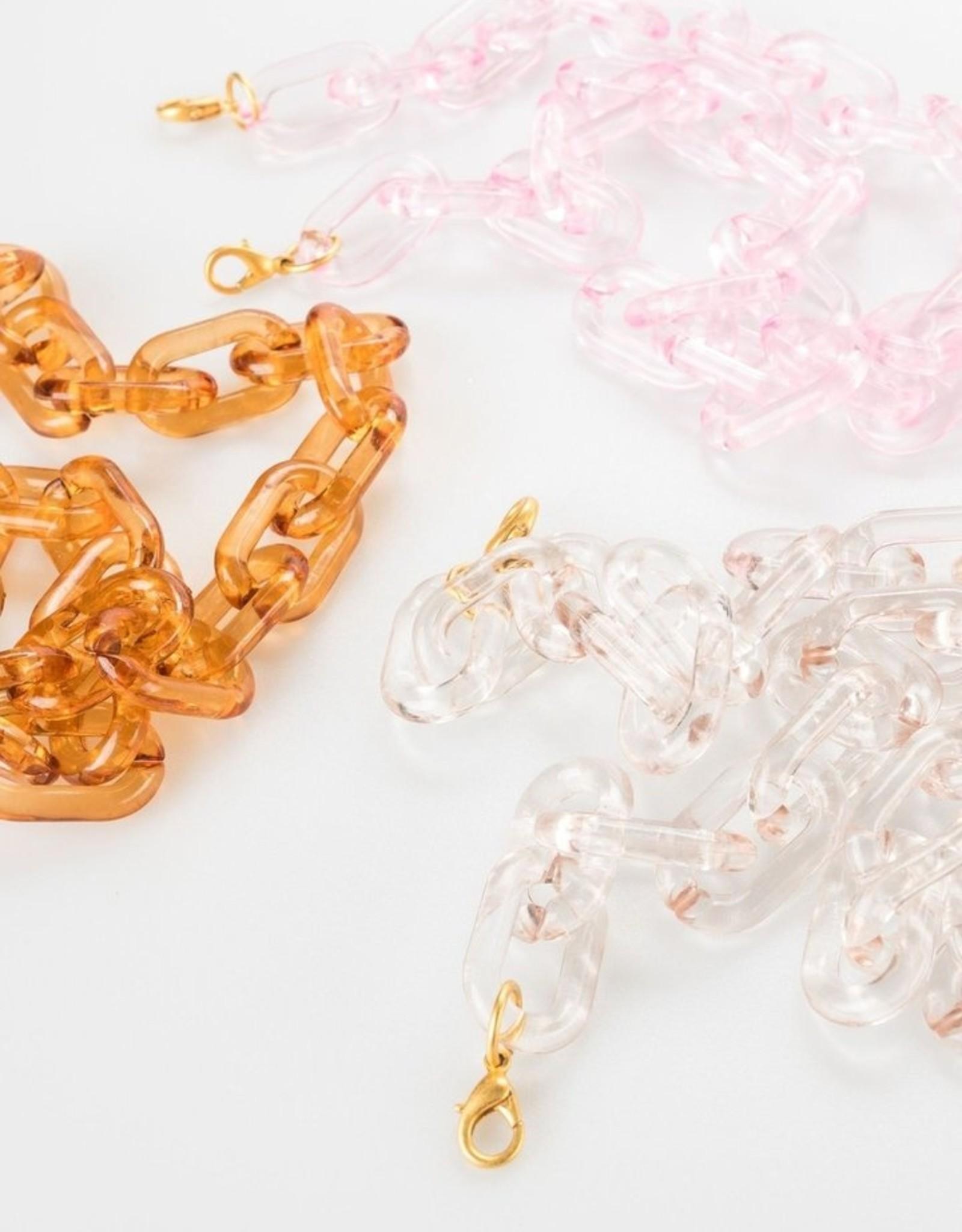 Claire Lucite Mask Chain