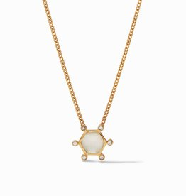 Julie Vos Cosmo Solitaire Neck Clear Crystal