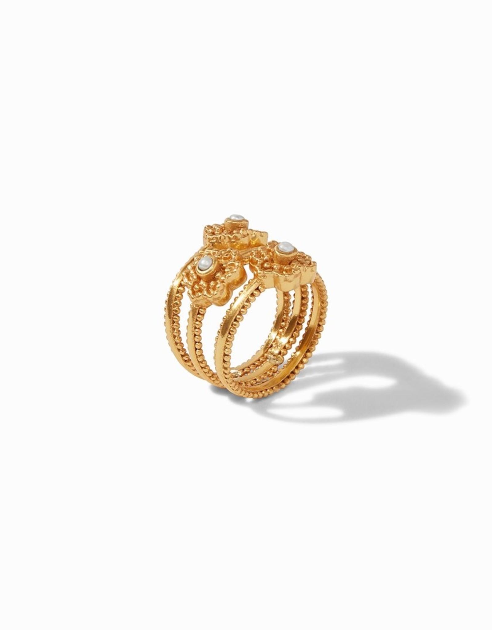 Julie Vos Colette Stack Ring