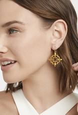 Julie Vos Fleur-de-Lis Lace Earring