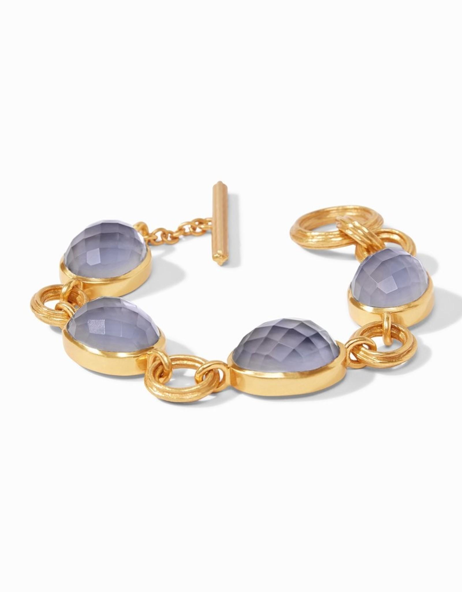Julie Vos Barcelona Bracelet Slate Blue