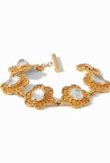Julie Vos Colette Bracelet Clear Crystal