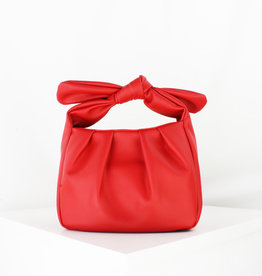 Red Bow Petite Tote