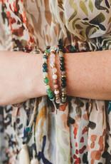 Gorjana Power Gem Mantra Bracelet