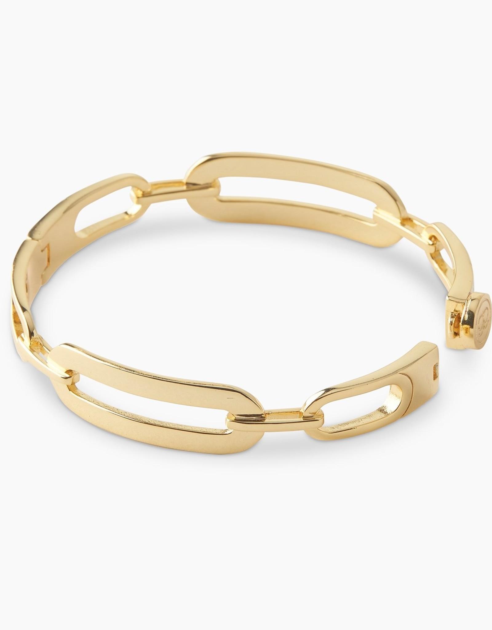 Gorjana Parker Link Bangle Gold