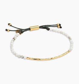Gorjana Howlite (Calming) Power Gemstone Bracelet