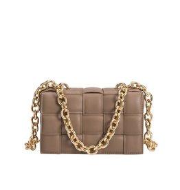 Melie Bianco Anya Shoulder Bag Taupe