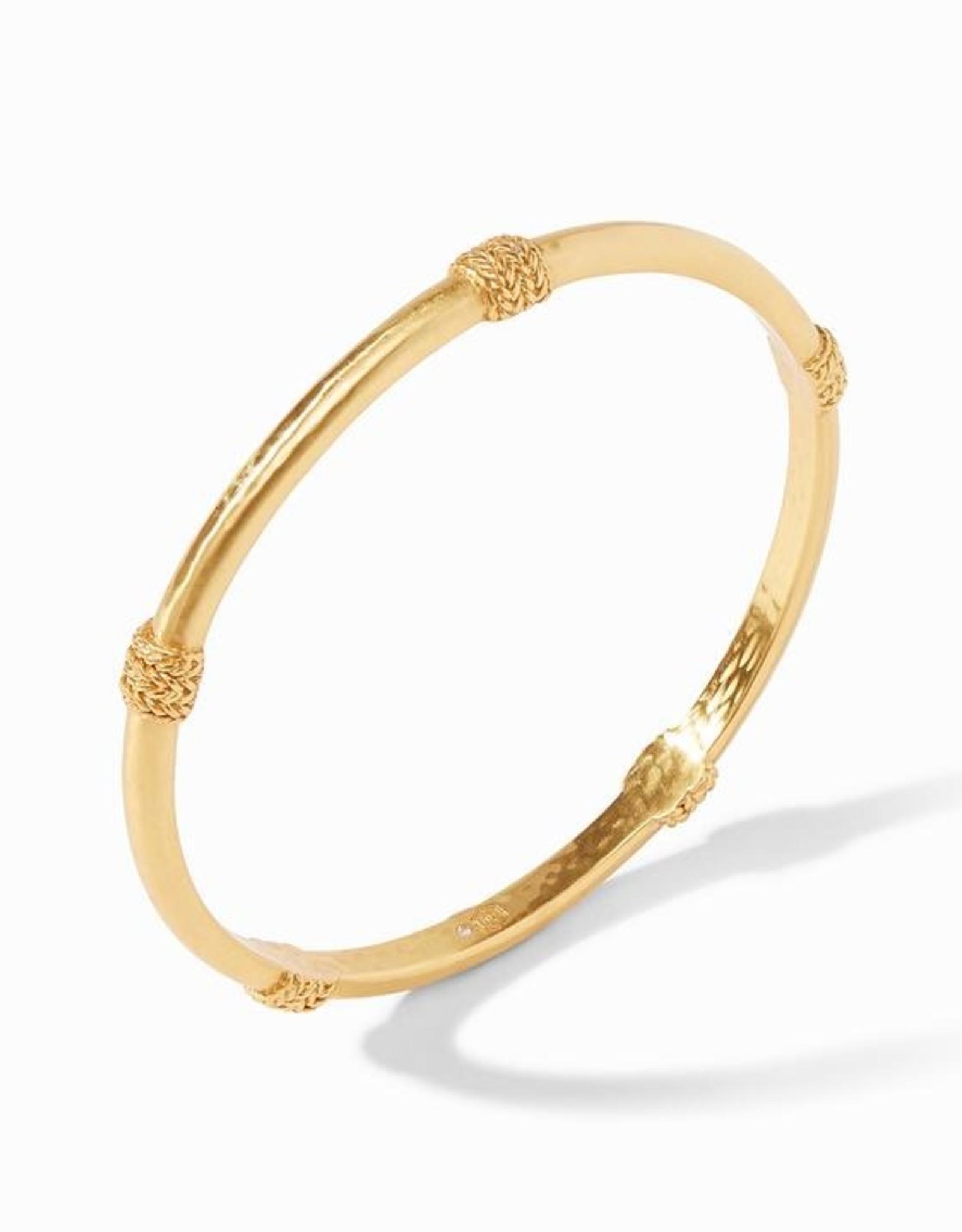 Julie Vos Windsor Bangle Gold Med