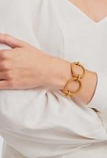 Julie Vos Windsor Oval Link Bracelet Gold