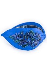 Namrata Joshipura Royal Blue w/Sequins Headband