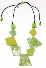 SYLCA Lime Florence Statement Neck