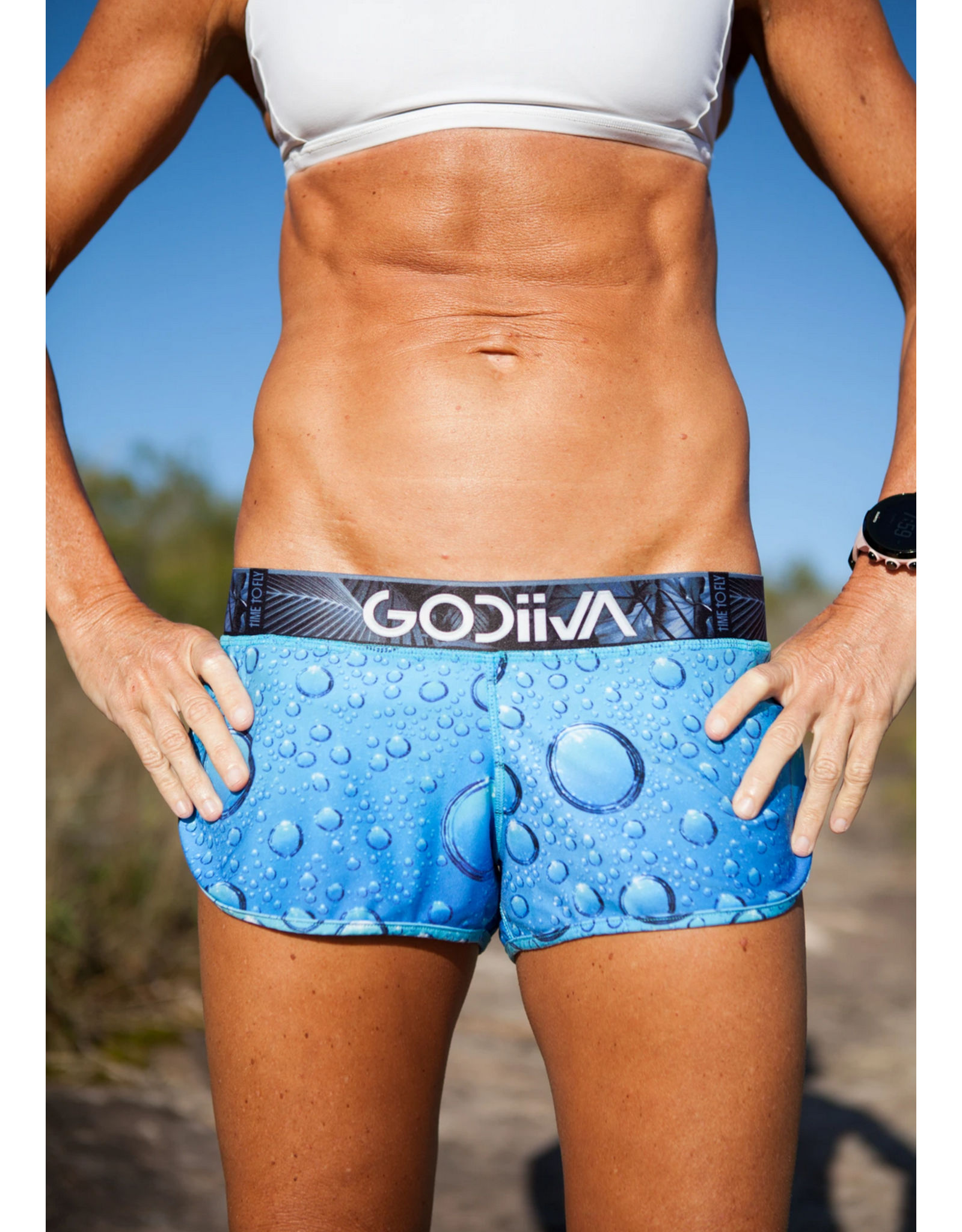 Godiiva Womens Godivva Athletic Shorts