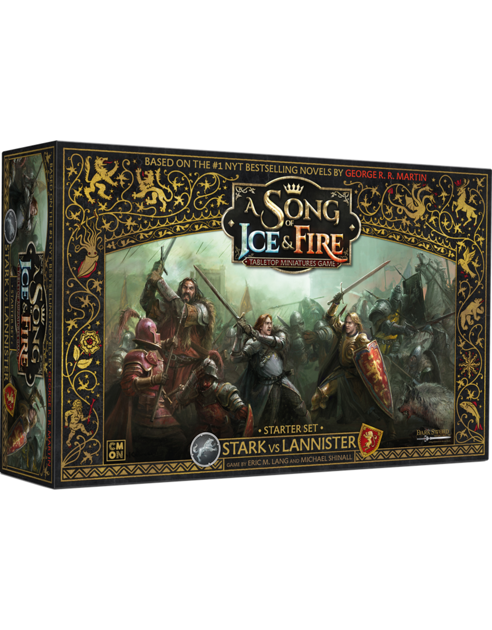 CMON A Song of Ice & Fire: Tabletop Miniatures Game: Starter Set - Stark vs Lannister