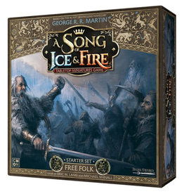 CMON A Song of Ice & Fire: Tabletop Miniatures Game: Starter Set - Free Folk
