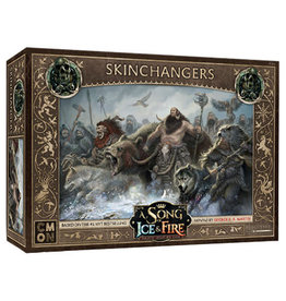 CMON A Song of Ice & Fire Tabletop Miniatures Game: Free Folk Skinchangers Unit Box