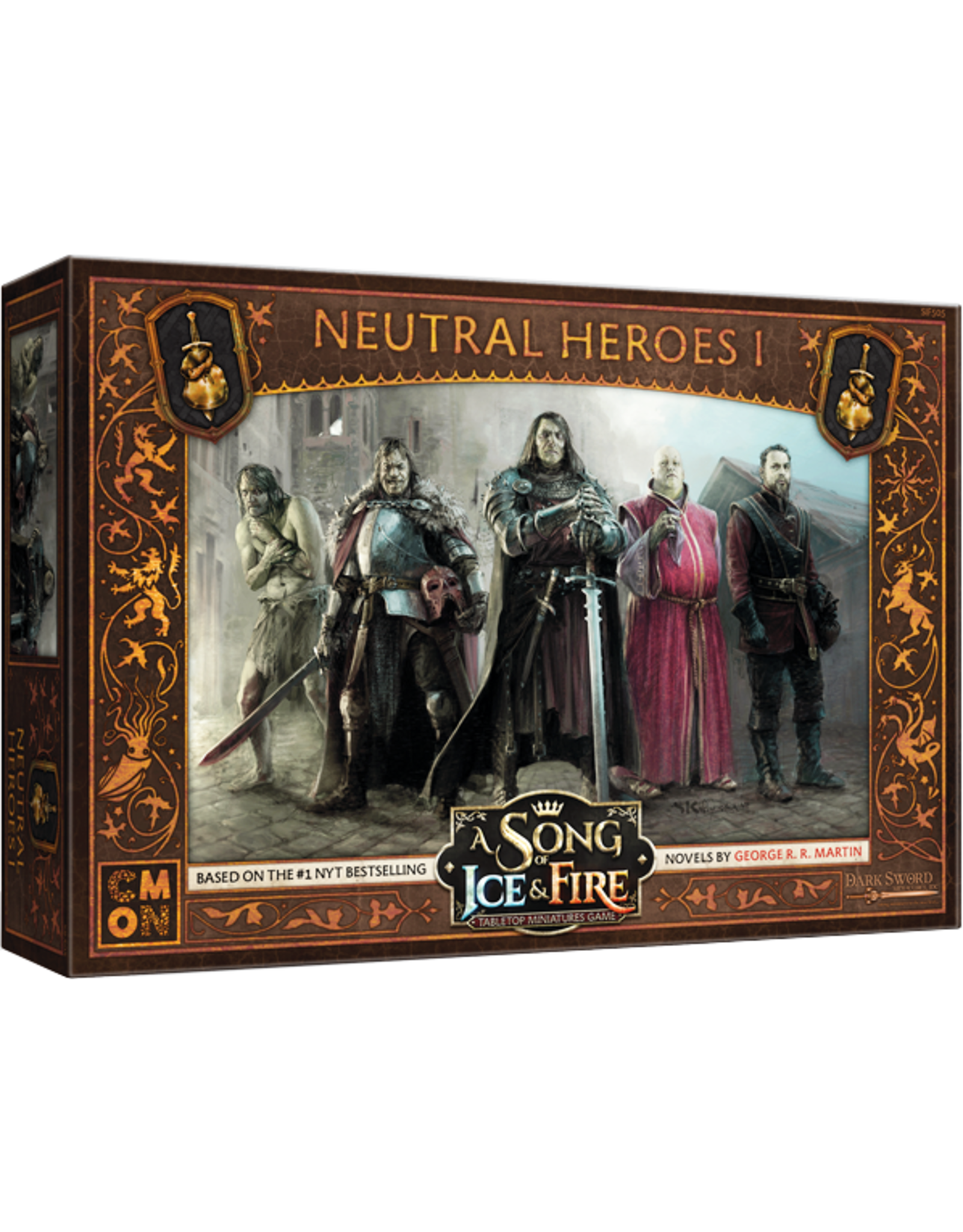 CMON A Song of Ice & Fire: Tabletop Miniatures Game: Neutral Heroes #1