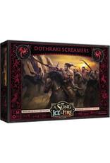 CMON A Song of Ice & Fire Tabletop Miniatures Game: Targaryen Dothraki Screamers Unit Box