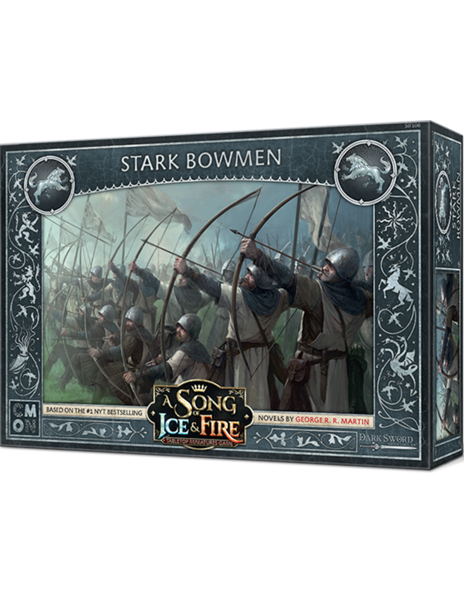 CMON A Song of Ice & Fire: Tabletop Miniatures Game: Stark Bowmen Unit Box