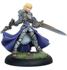 Warmachine Warmachine: Mercenaries Ashlynn dElyse Warcaster (White Metal)