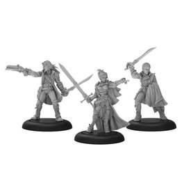 Privateer Press Warmachine: Mercenaries Ashlynn dElyse the Queens Blade Warcaster Unit (White Metal)