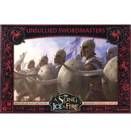 CMON A Song of Ice & Fire Tabletop Miniatures Game: Targaryen Unsullied Swordsmen Unit Box