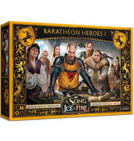 CMON A Song of Ice & Fire Tabletop Miniatures Game: Baratheon Heroes I