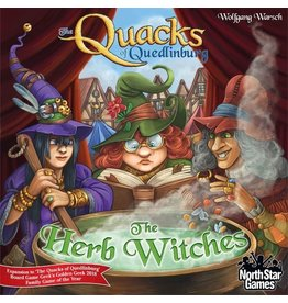 North Star Games The Quacks of Quedlinburg: The Herb Witches Expansion