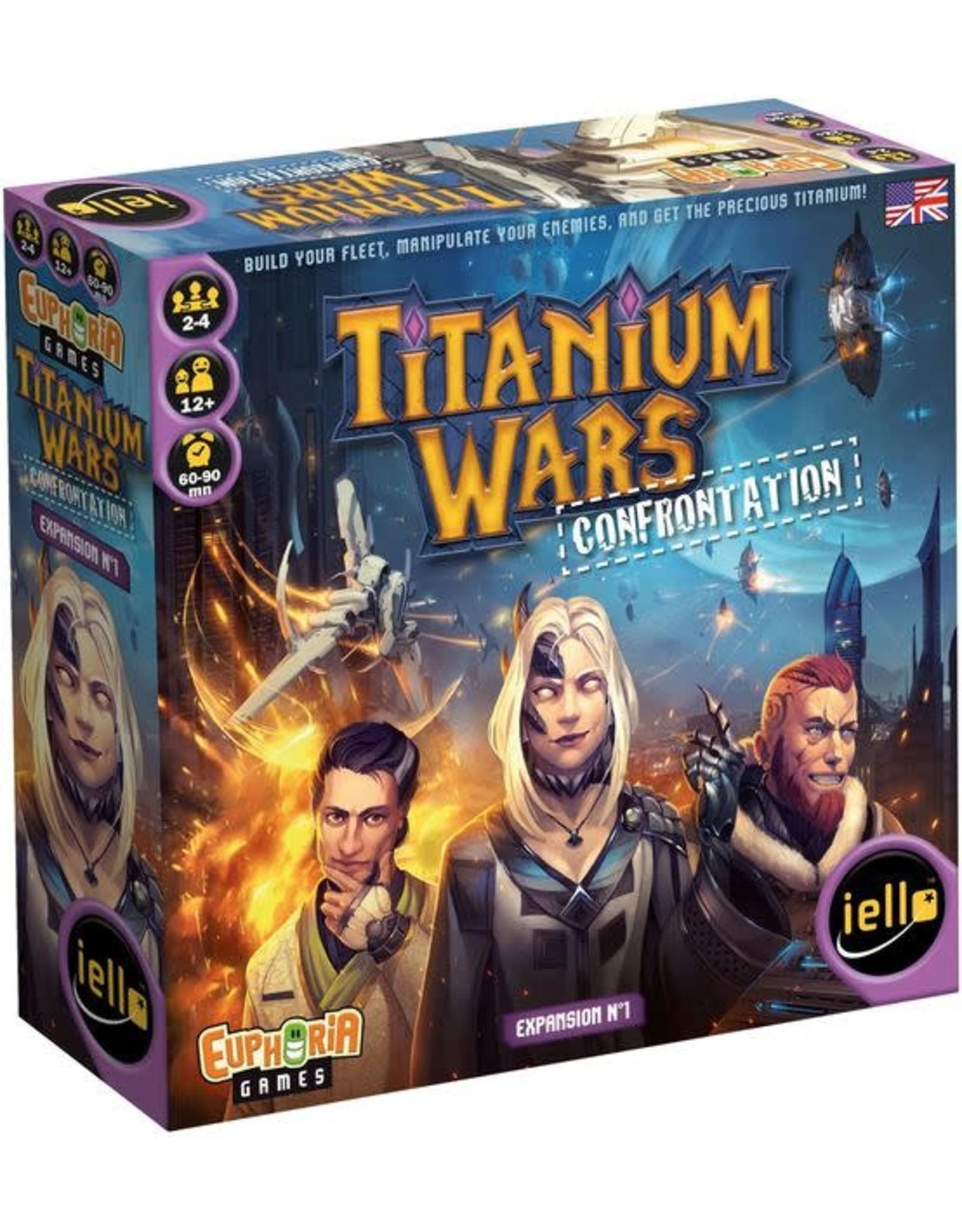 Iello Titanium Wars: Confrontation