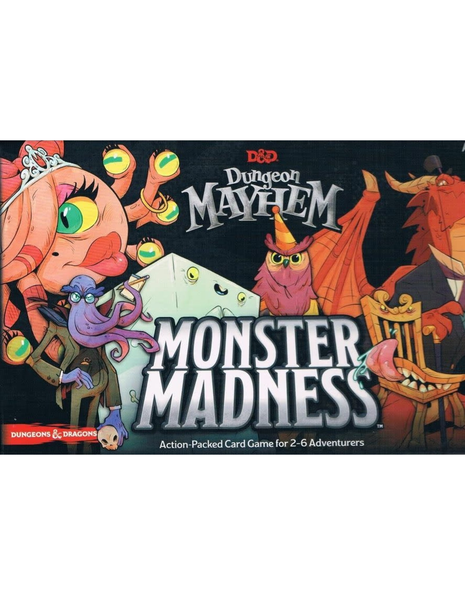 Wizards of the Coast Dungeons and Dragons: Dungeon Mayhem - Monster Madness