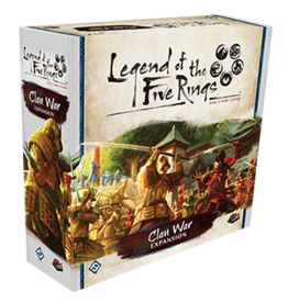 Fantasy Flight Games Legend of the Five Rings: Clan War Expansion