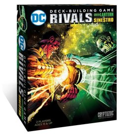 Cryptozoic DC Comics DBG: Rivals - Green Lantern VS Sinestro