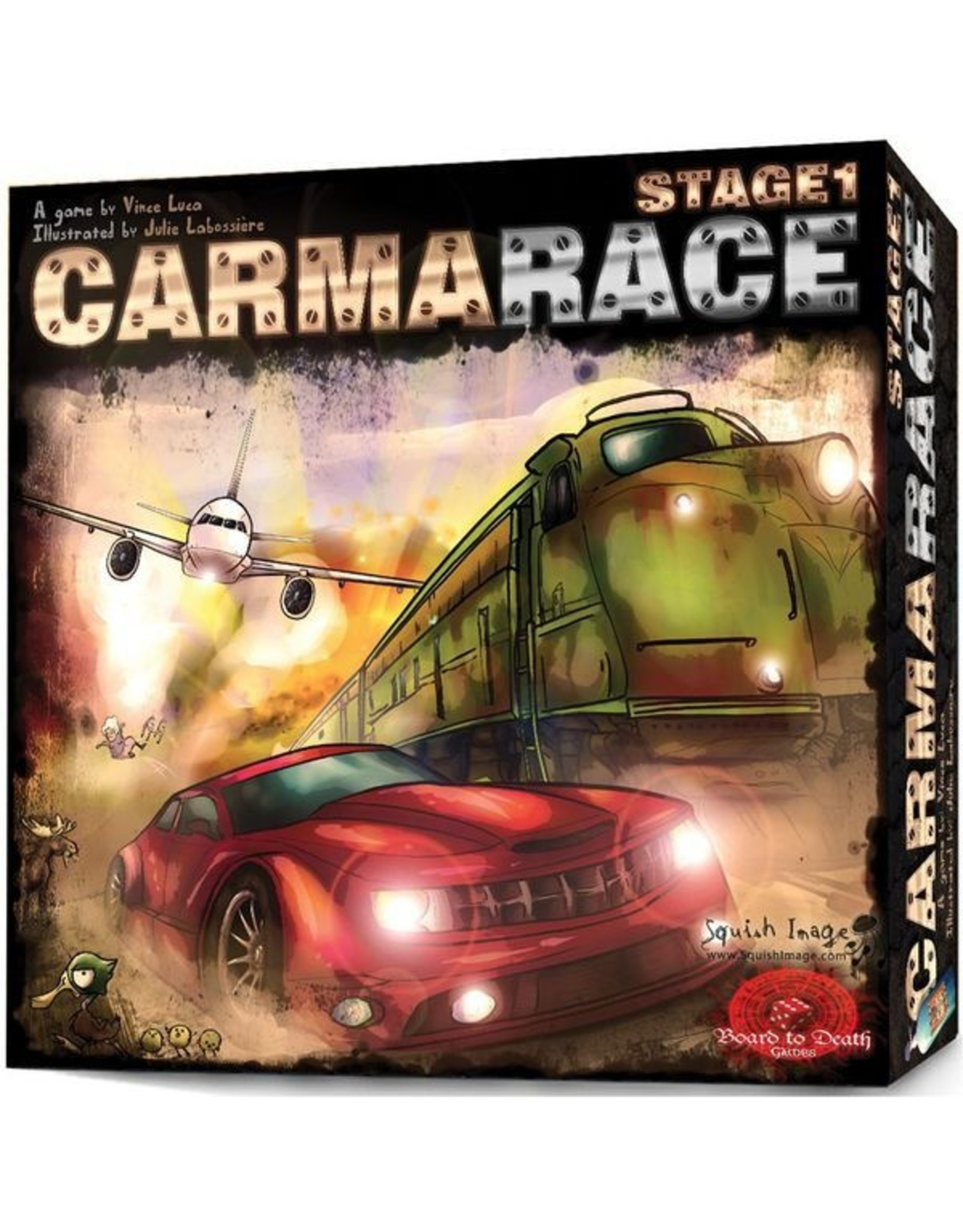 Board to Death CarmaRace