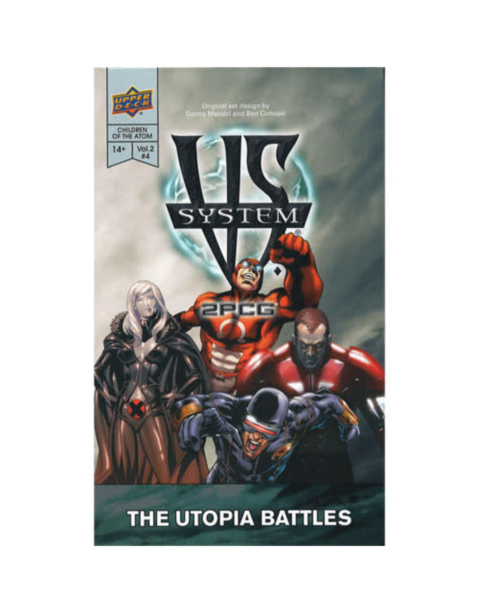Upper Deck VS System 2PCG: Marvel Children of the Atom - The Utopia Battles