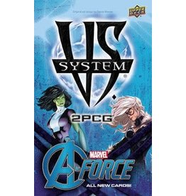 Upper Deck VS System 2PCG: Marvel A-Force Expansion