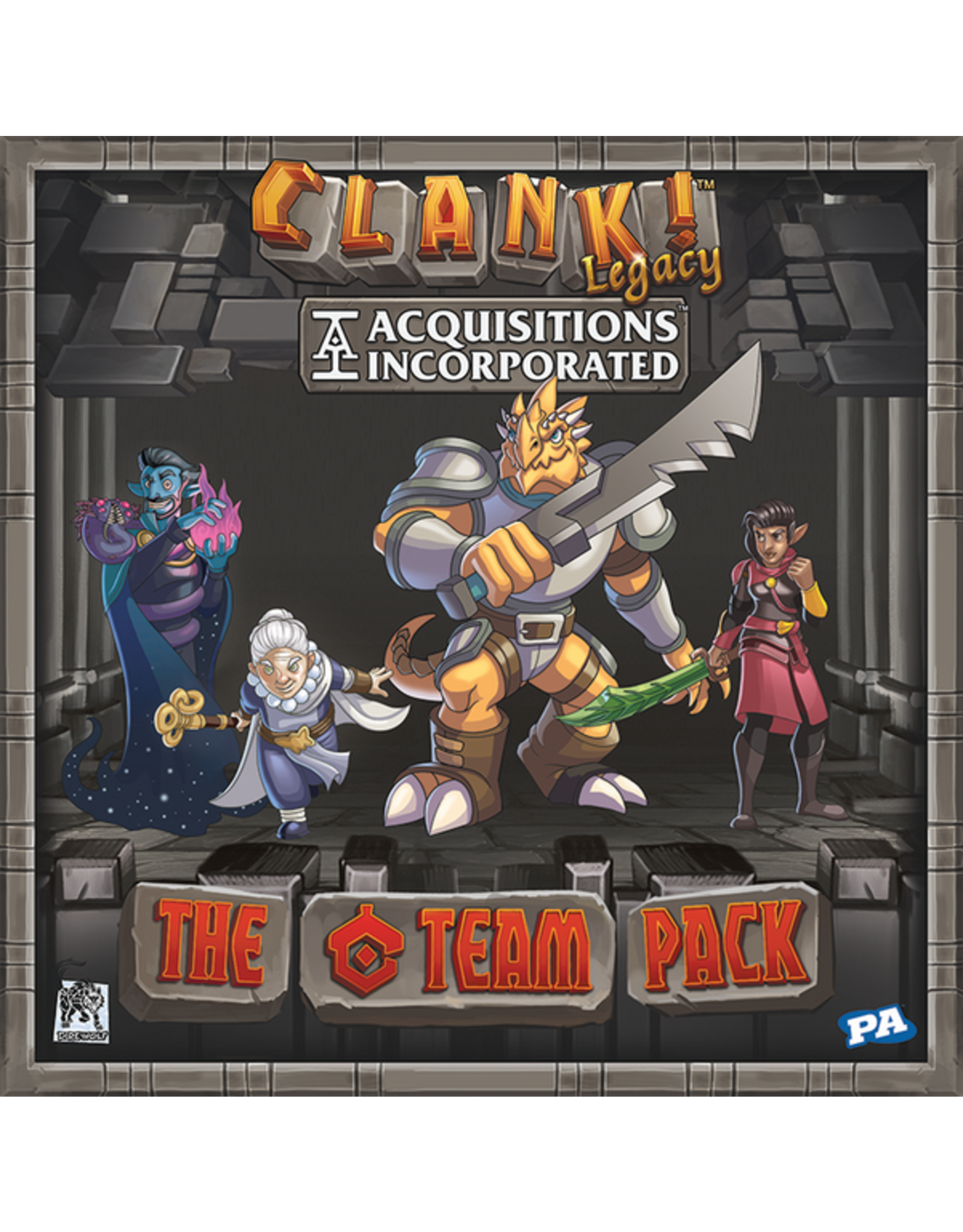 Renegade Game Studios Clank!: Legacy - Acquisitions Incorporated - The `C` Team Pack