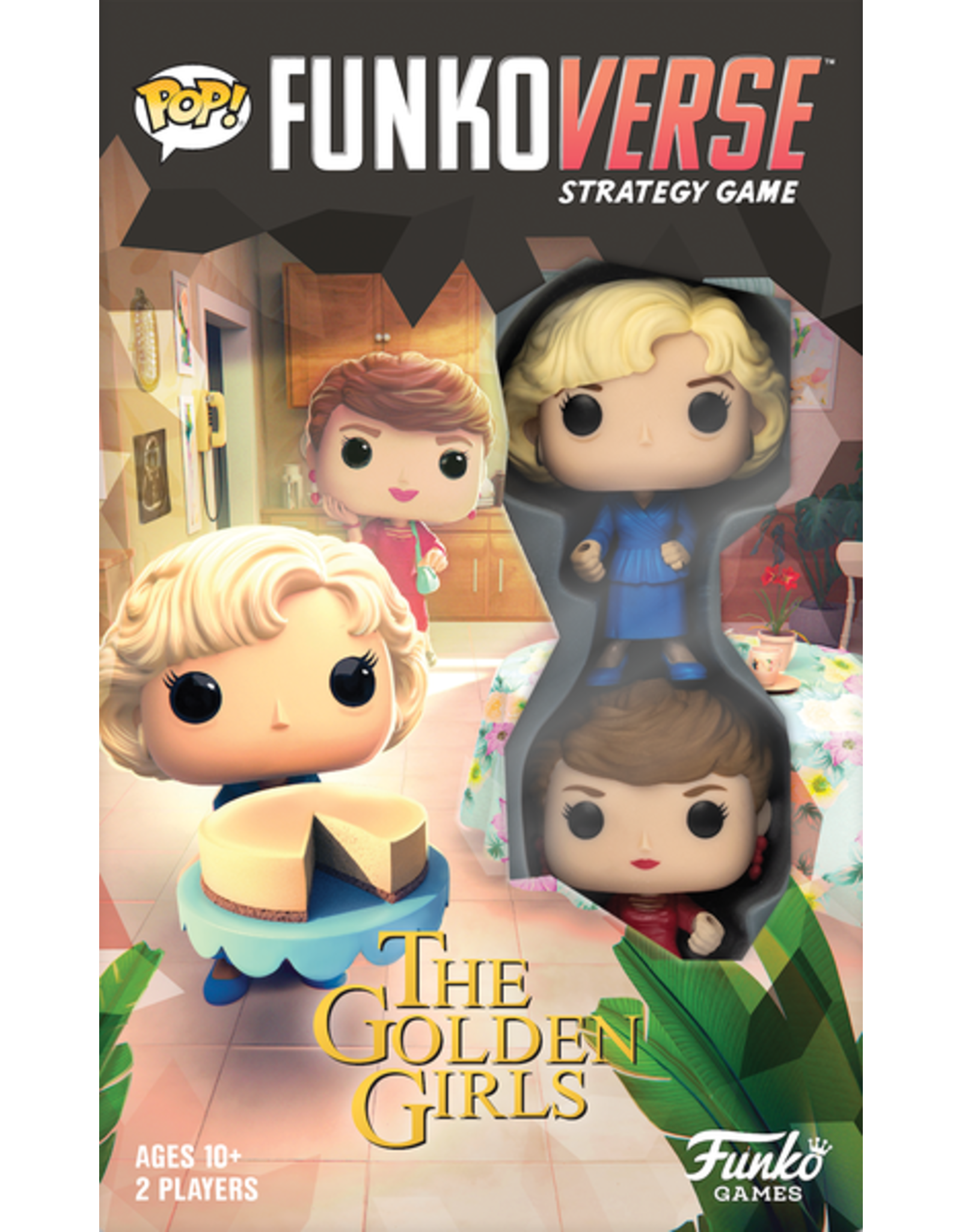 Funko Games POP! Funkoverse Strategy Game Golden Girls