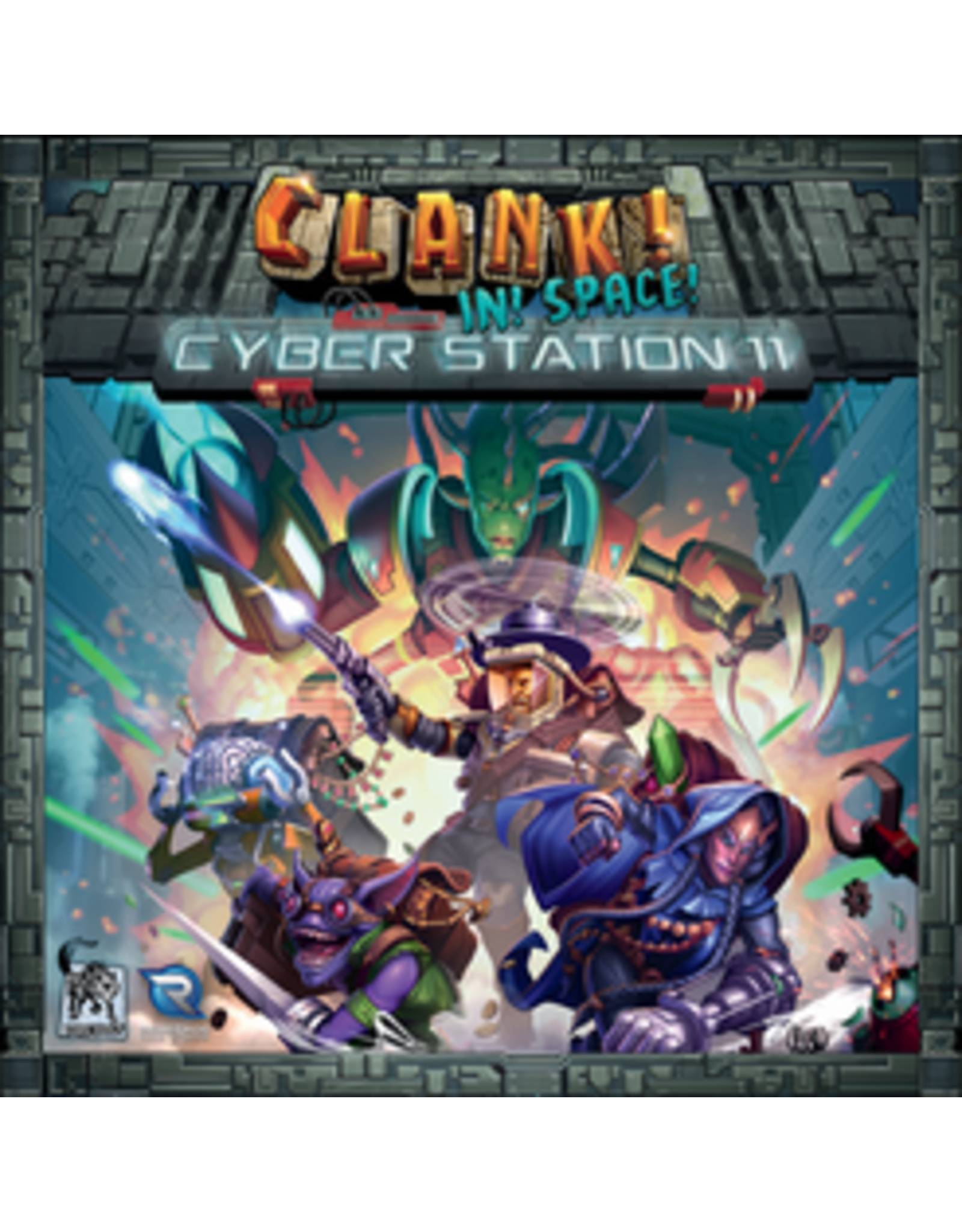 Renegade Game Studios Clank!: In! Space! - Cyber Station 11 Expansion