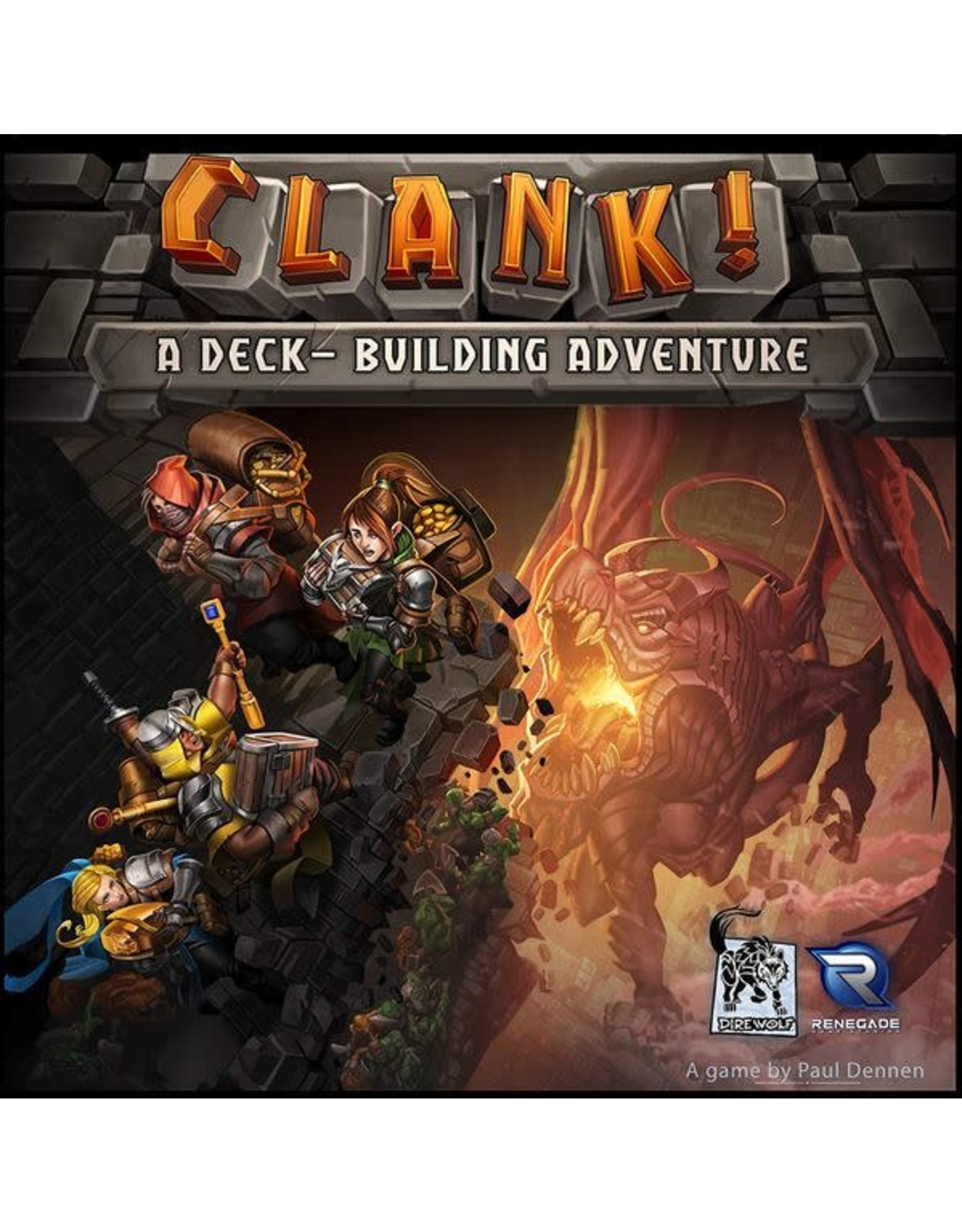 Renegade Game Studios Clank! A Deck-Building Adventure