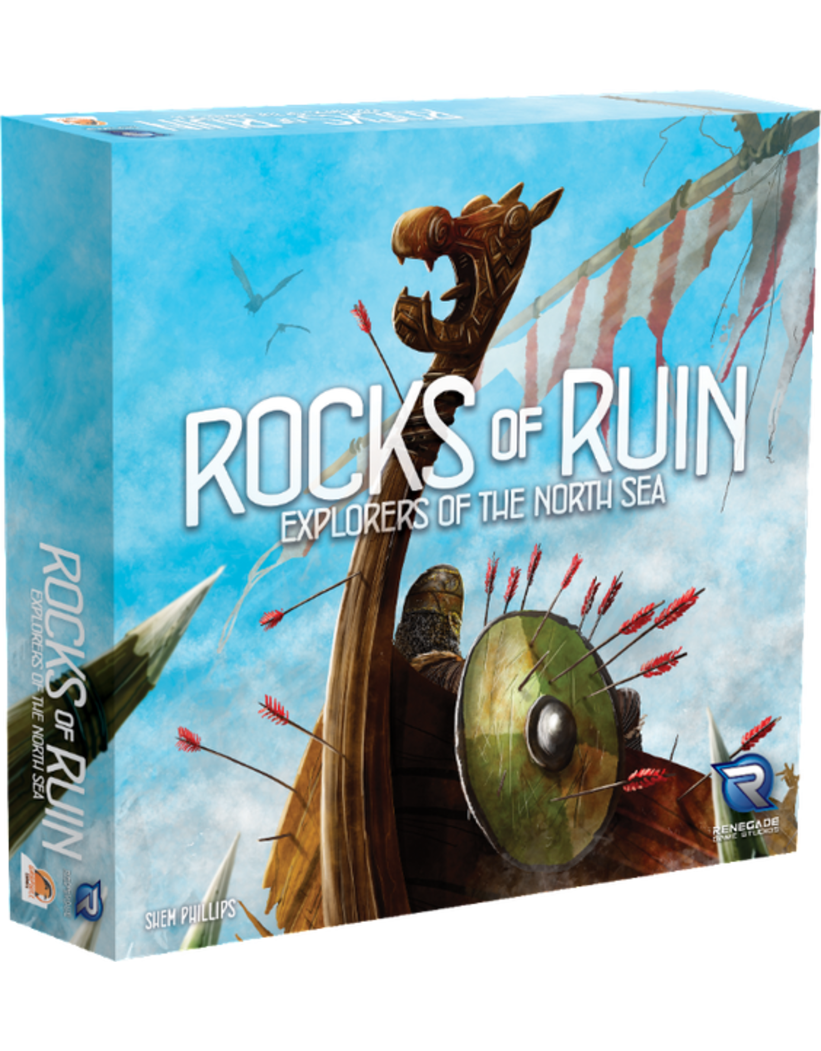 Renegade Game Studios Explorers of the North Sea: Rocks of Ruin Expansion