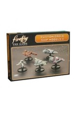 Gale Force 9 Firefly: The Game - Ship Set II (S.S. Walden, Jubal Early's Interceptor, Series IV Firefly ships x2, Operative's Corvette)