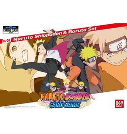 Bandai Naruto Boruto 2-Player Card Game: Naruto Shippuden & Boruto Set