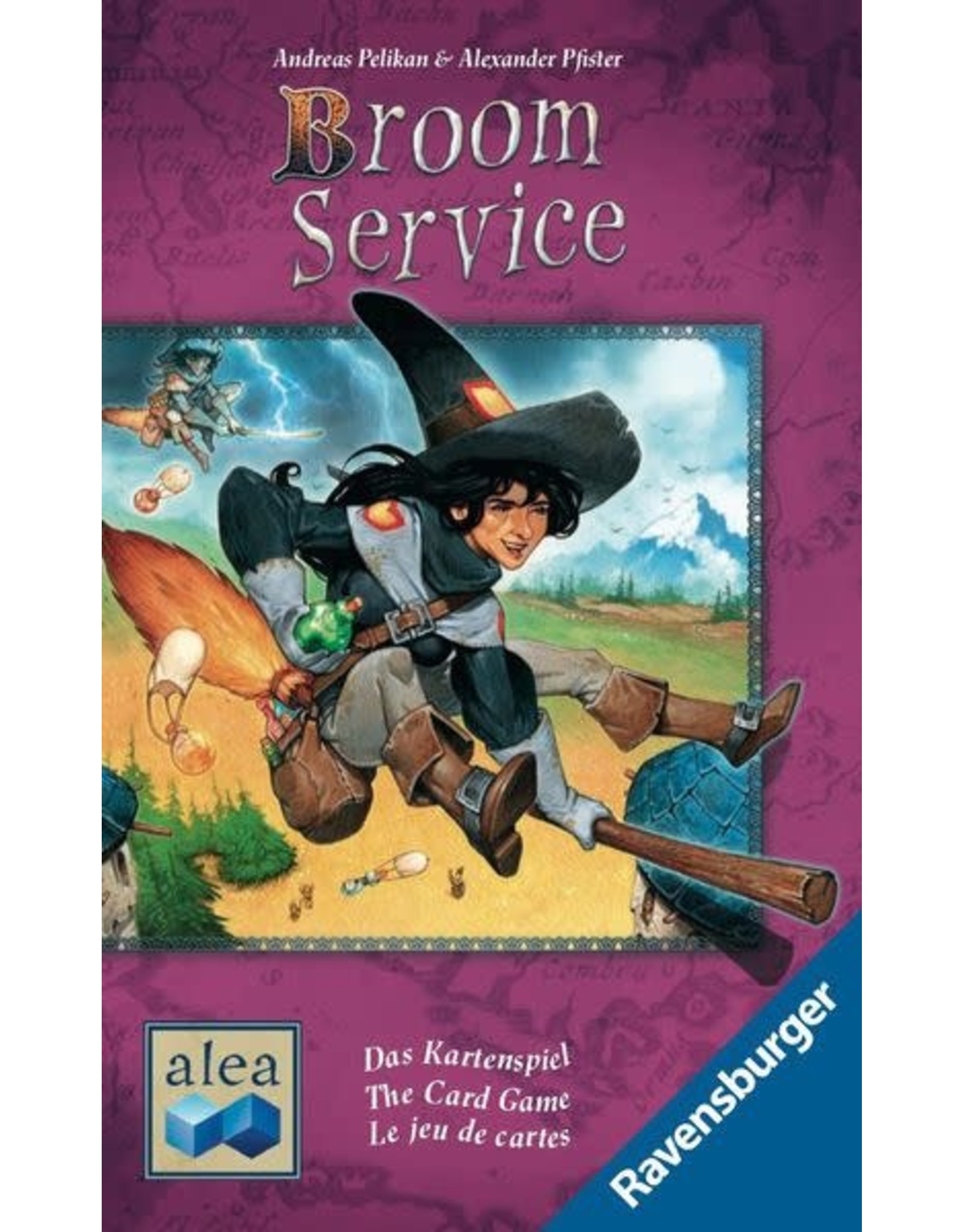 Ravensburger Broom Service - The Card Game