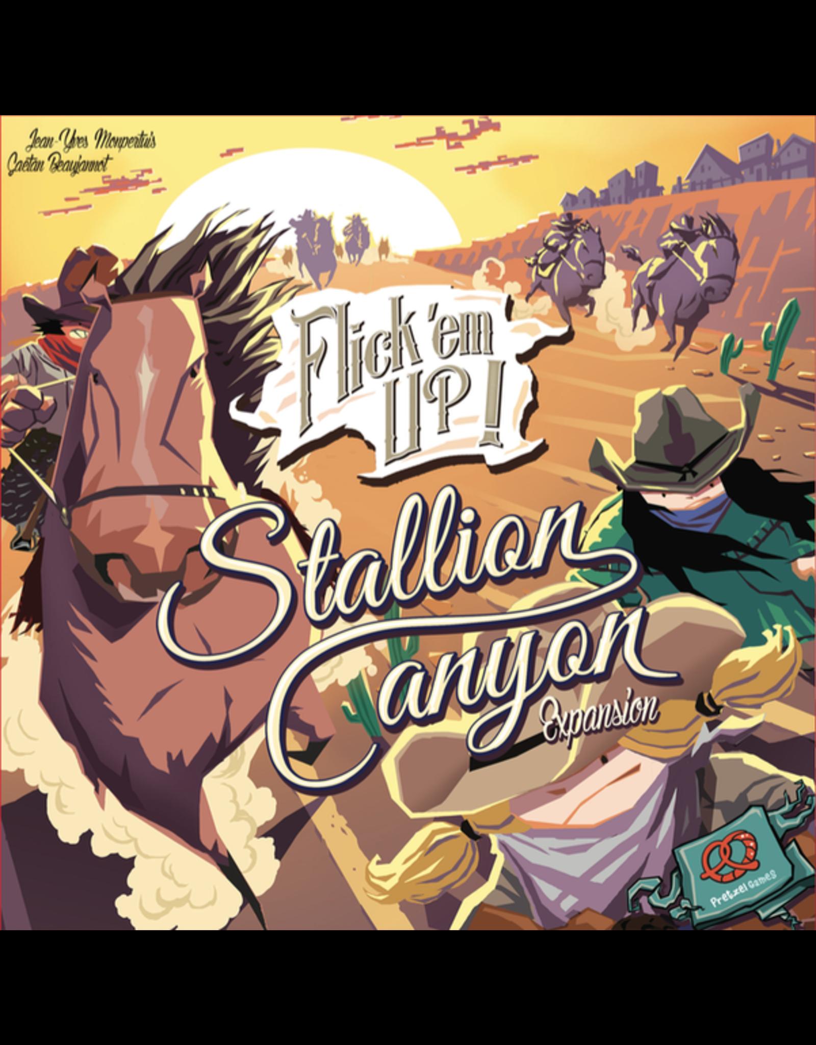 Pretzel Games Flick Em Up! Stallion Canyon Expansion