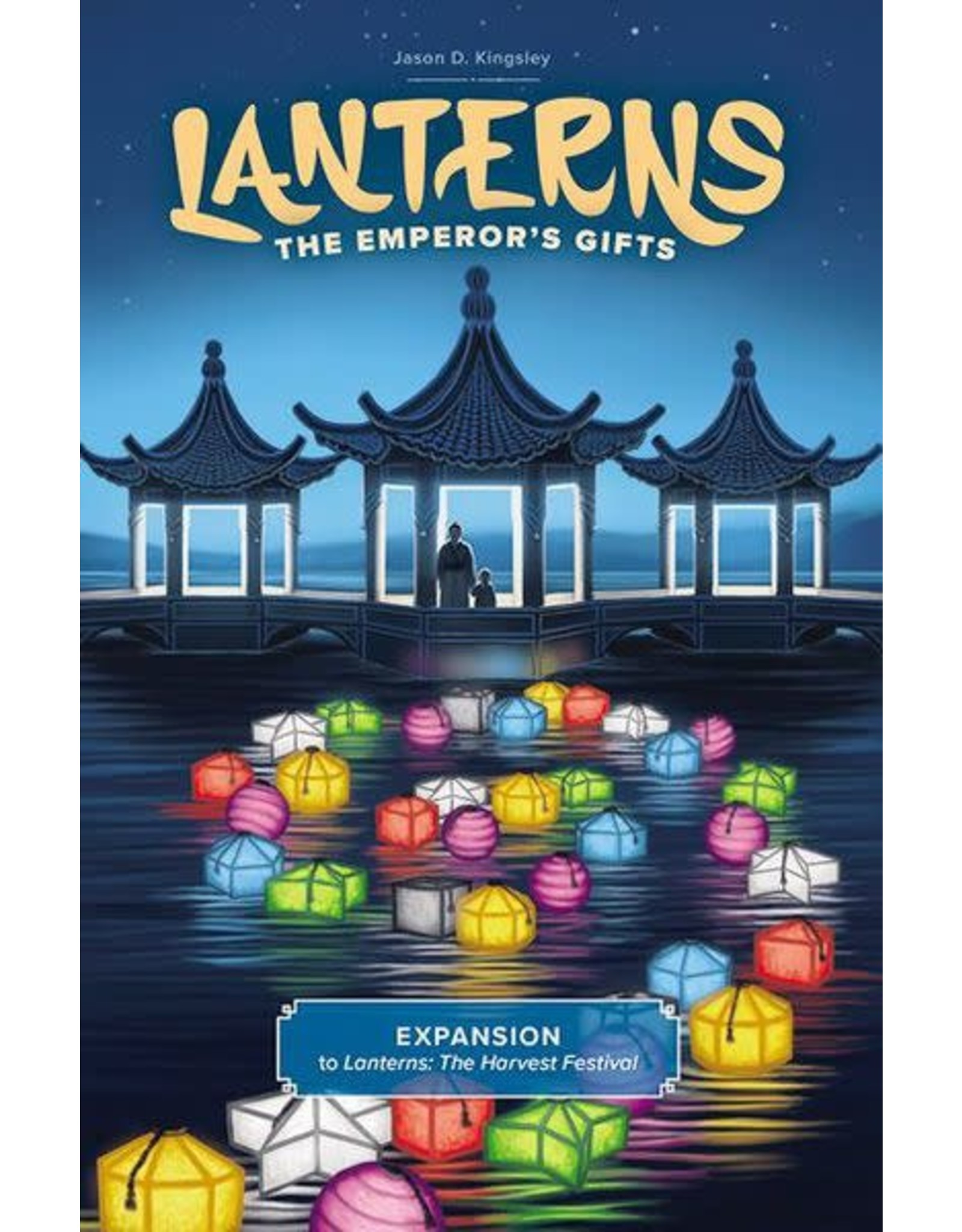 Renegade Game Studios Lanterns: The Emperor's Gifts Expansion