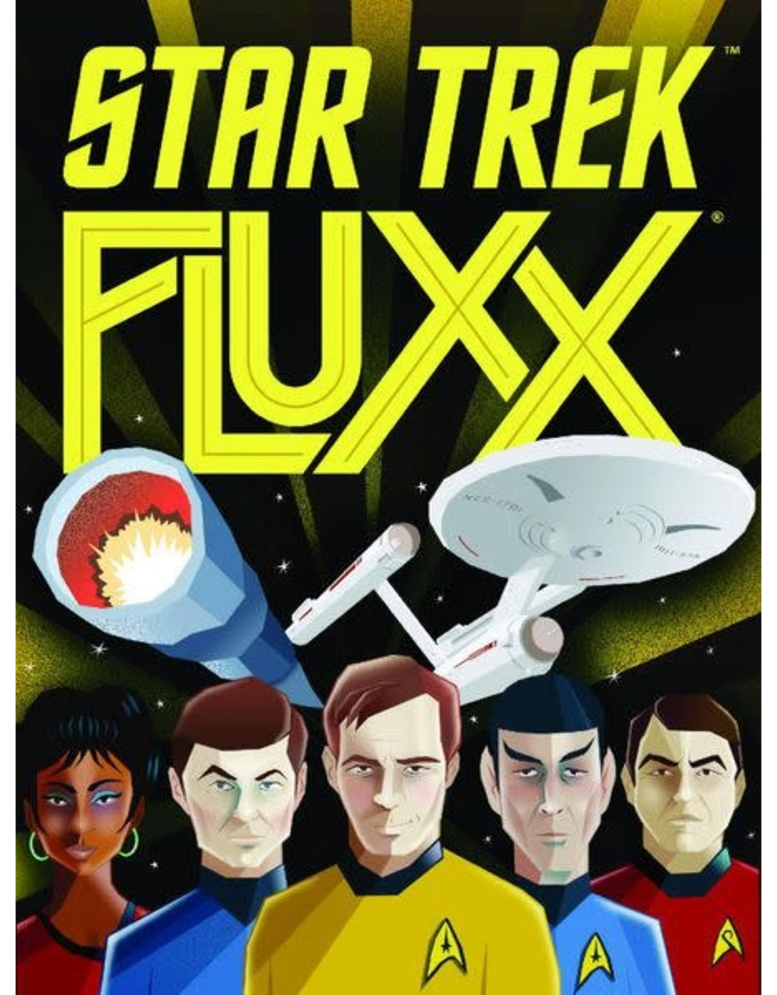 Deep Space Nine Fluxx Card Game FREE SHIPPING NEW IN BOX Looney Labs Star Trek